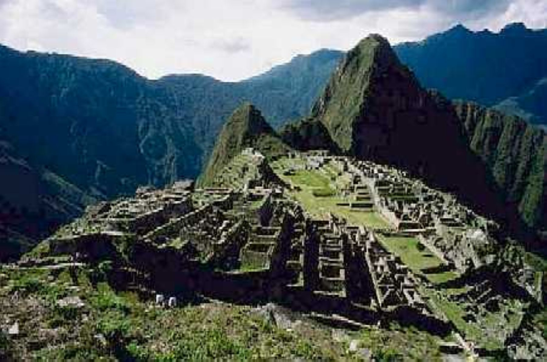 Machu Picchu, una de las siete maravillas del mundo. INTERNET/Medios