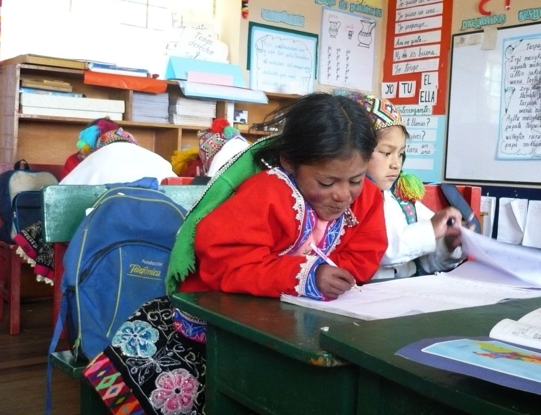 Proyecto Huasaca ya ha beneficiado a más de 40,000 pobladores de zonas altoandinas. FOTO: Difusión
