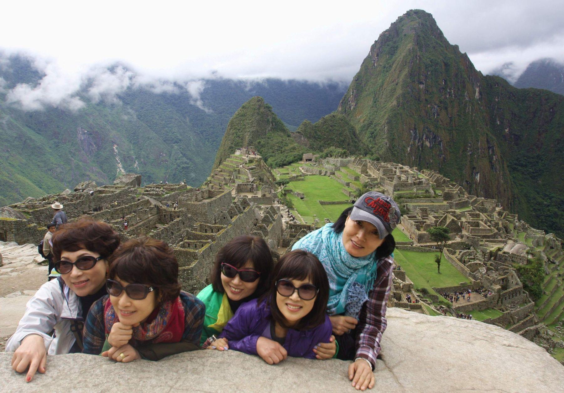 Turistas en Machu Picchu. Foto: ANDINA/archivo.
