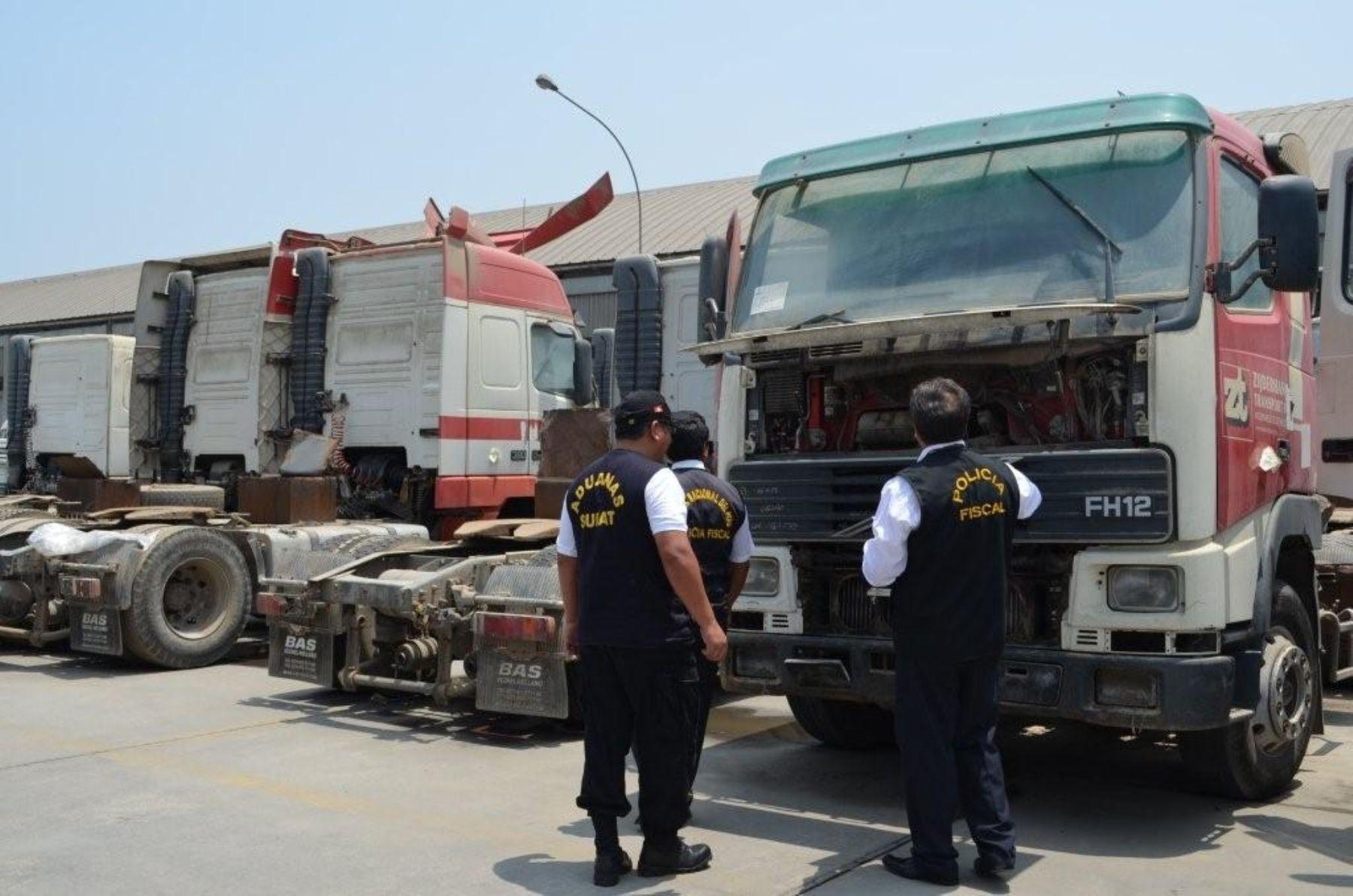 Sunat realizará el último remate nacional de bienes embargados. ANDINA/Difusión
