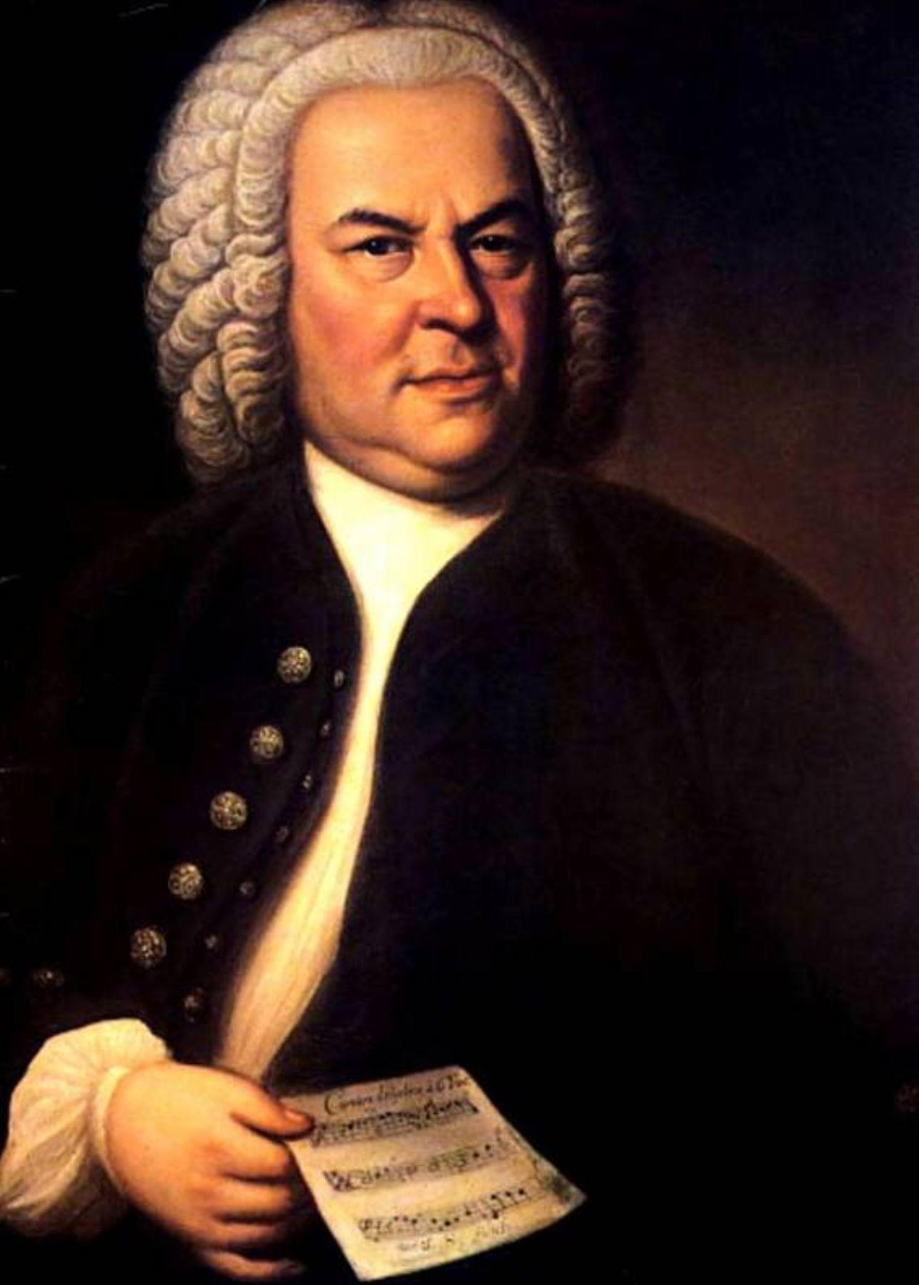 Compositor Johann Sebastian Bach. Internet/Medios