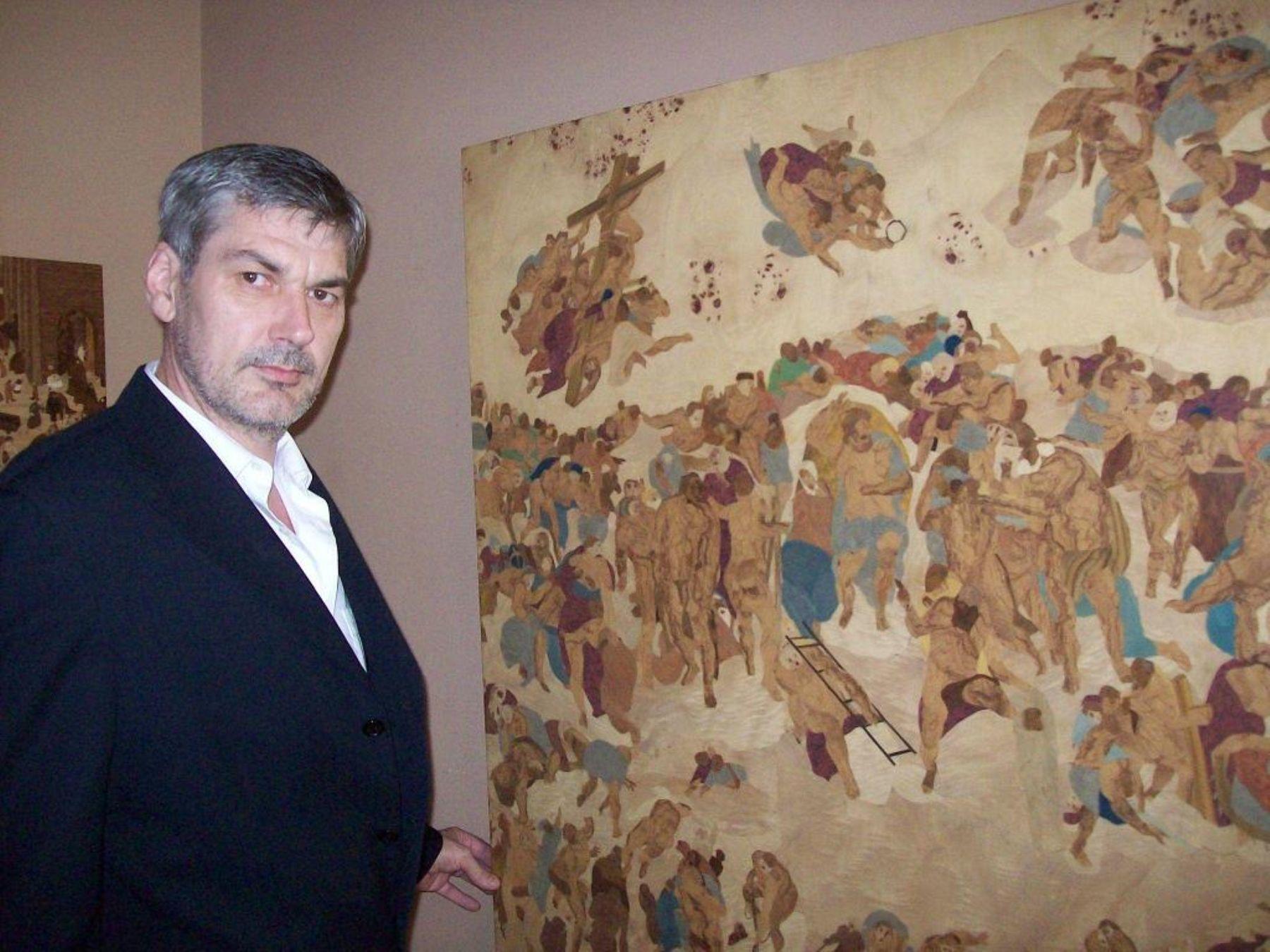 Artista austriaco Johannes Stöge