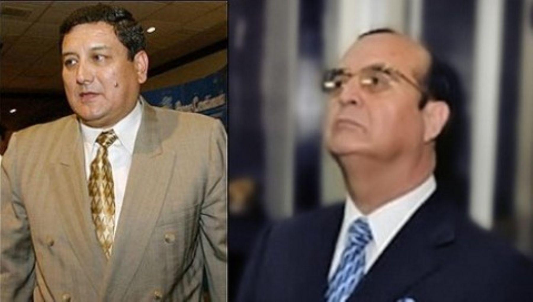 Se inició juicio oral a Vladimiro Montesinos y Fernando Zevallos por el delito de lavado de activos. Foto: ANDINA/Internet.