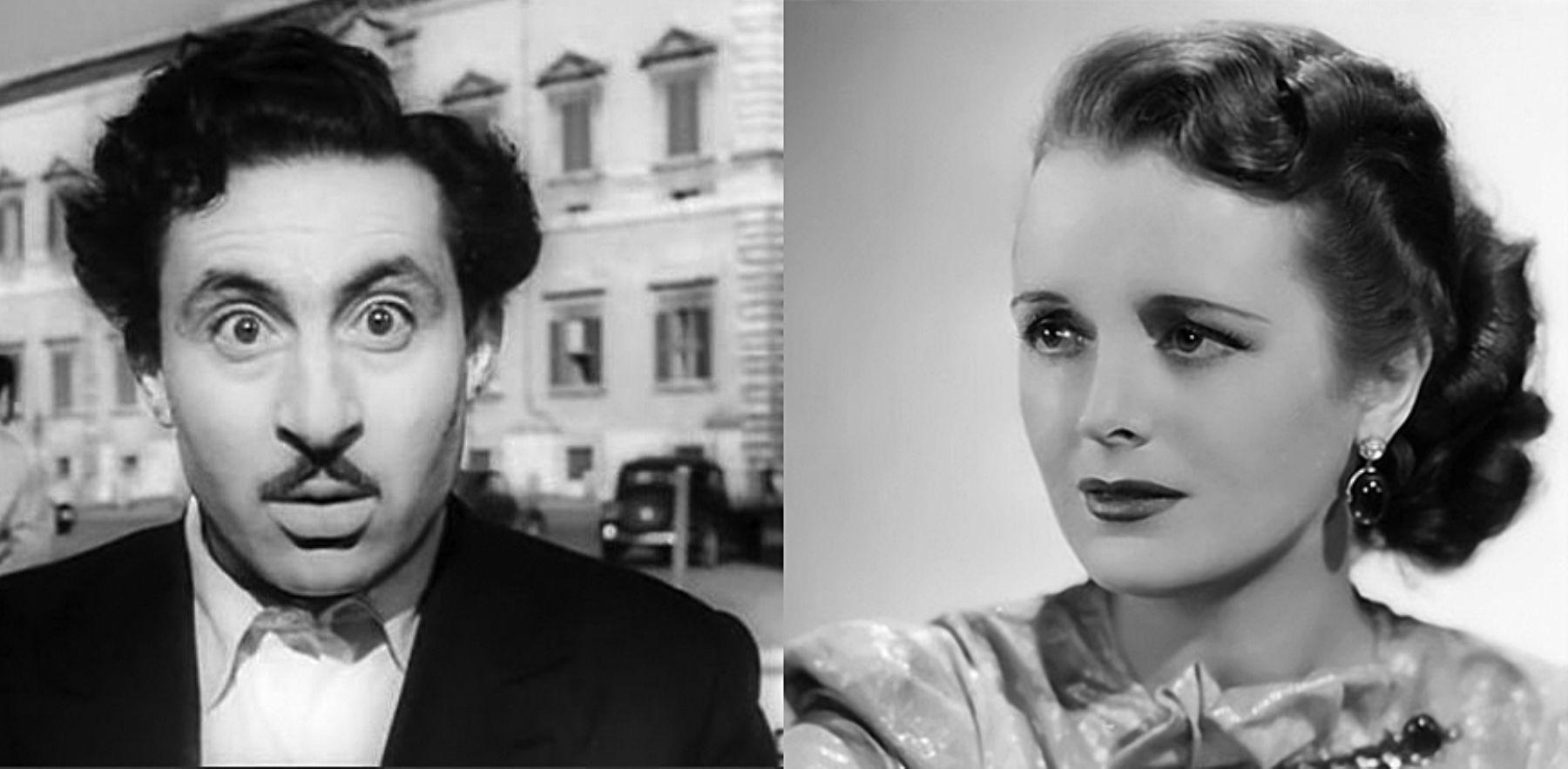 Actores Mary Astor-Leopoldo Trieste. INTERNET/Medios