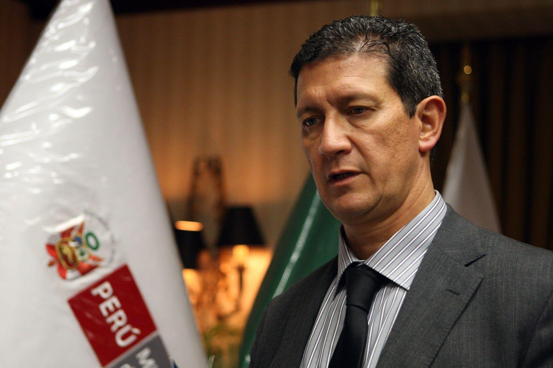 epresentante de la ONUDD para Perú y Ecuador, Flavio Mirella. Foto: ANDINA/Archivo