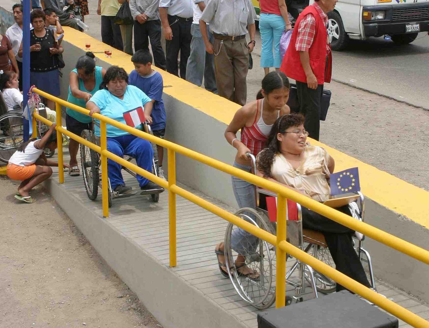 Verifican En Lima Estructura De Las Rampas Para