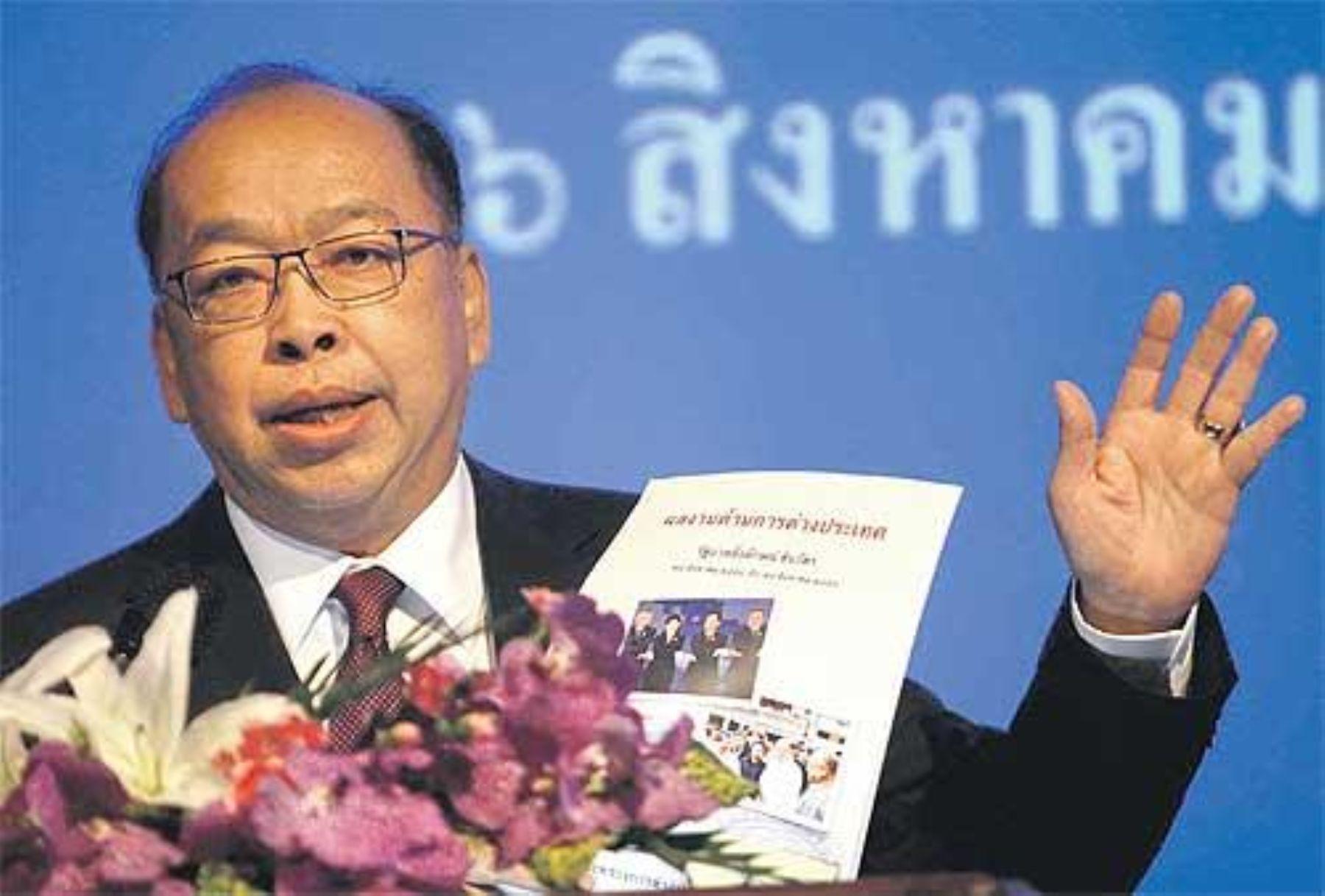 Thai Foreign Minister Surapong Tovichakchaikul.