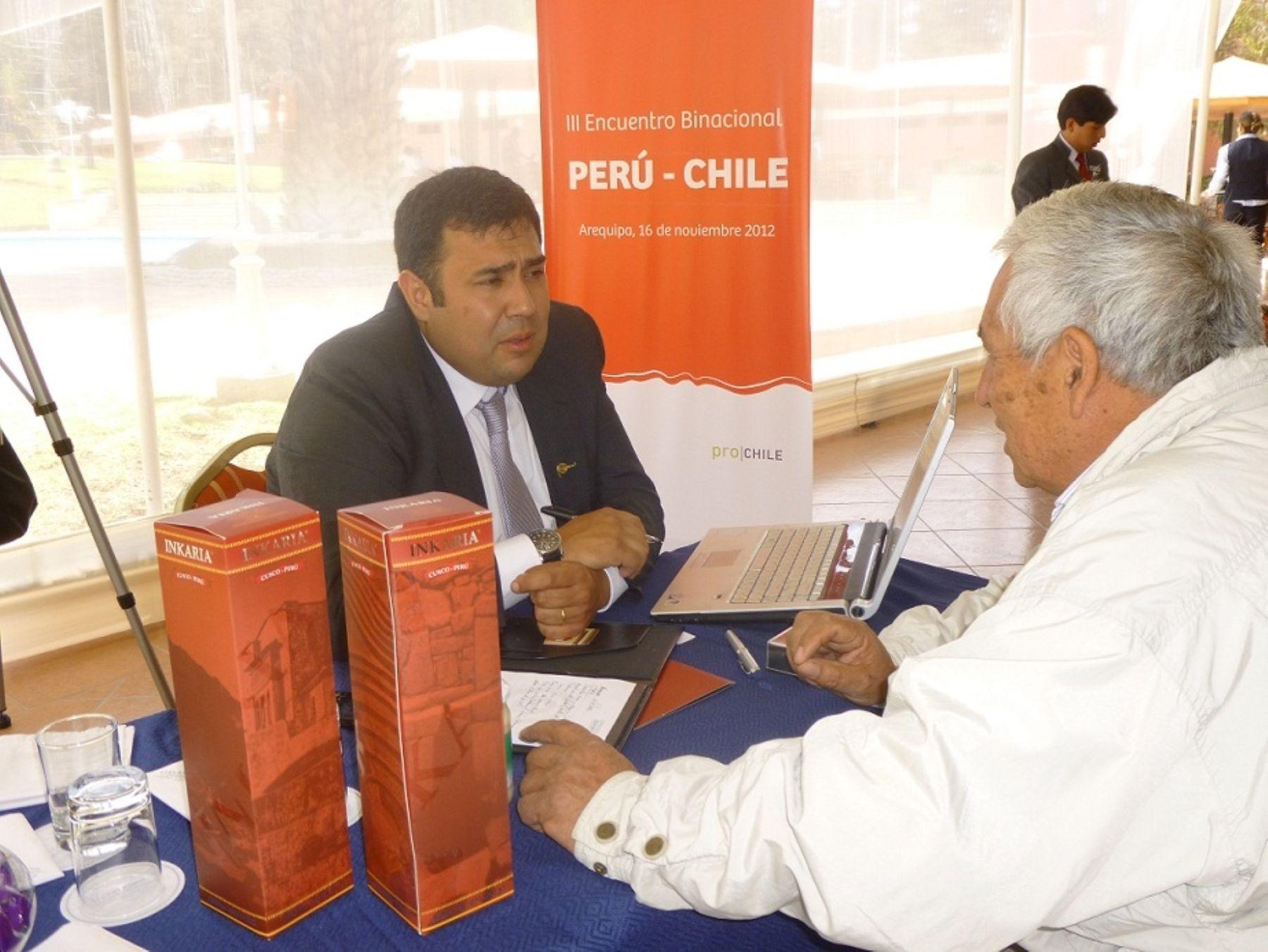 III Encuentro Empresarial Perú – Chile realizado el 16 de noviembre en Arequipa.