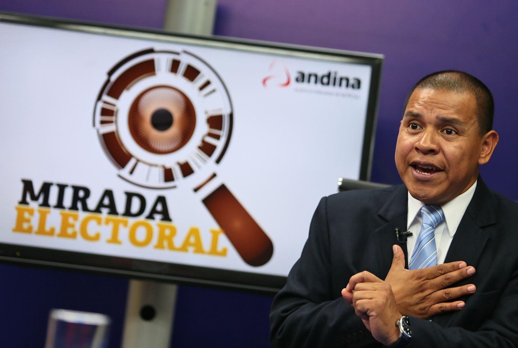 Candidato Miguel Hilario aclara que sí reportó bienes y rentas en ...
