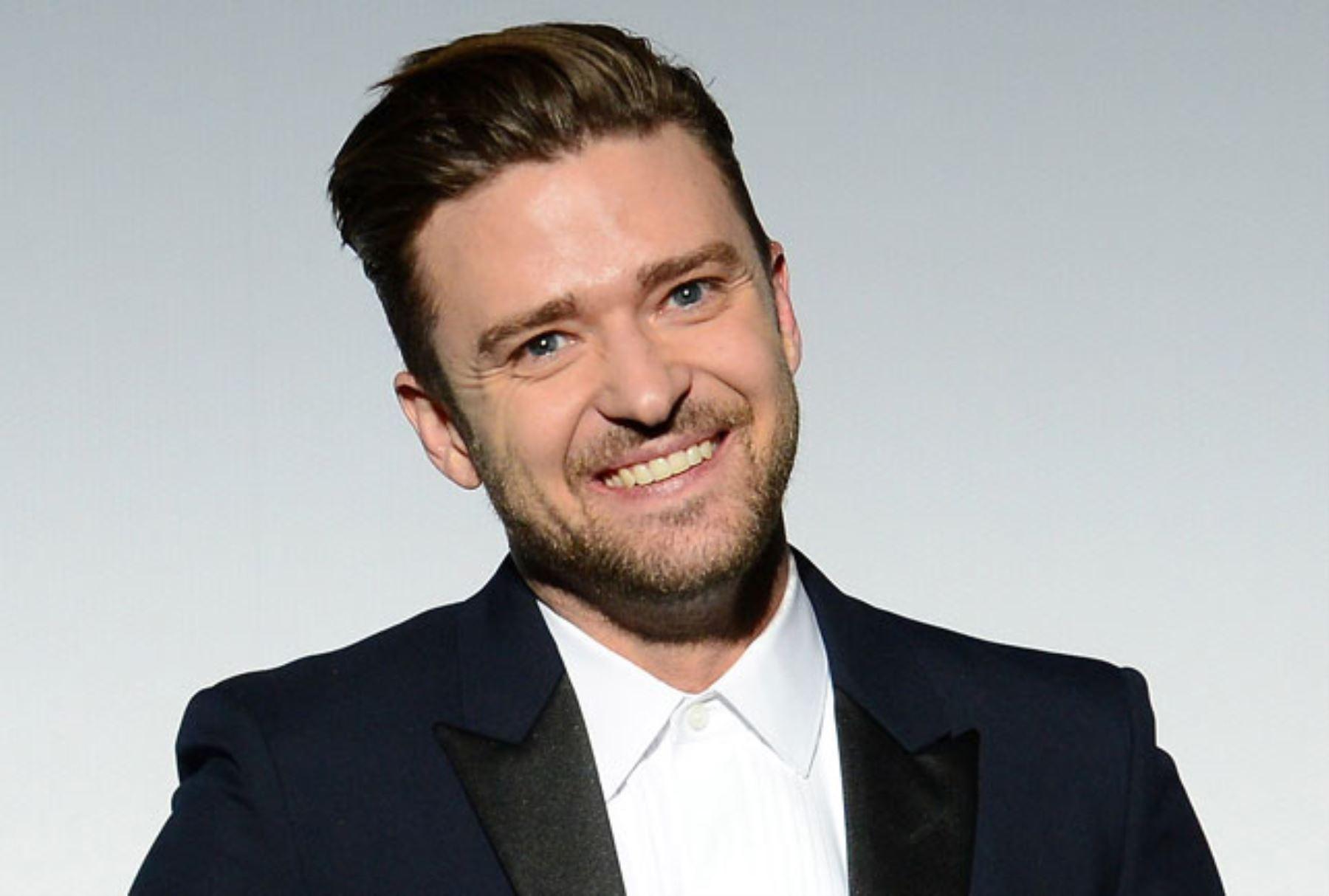 Cantante Justin Timberlake. ANDINA/Difusión