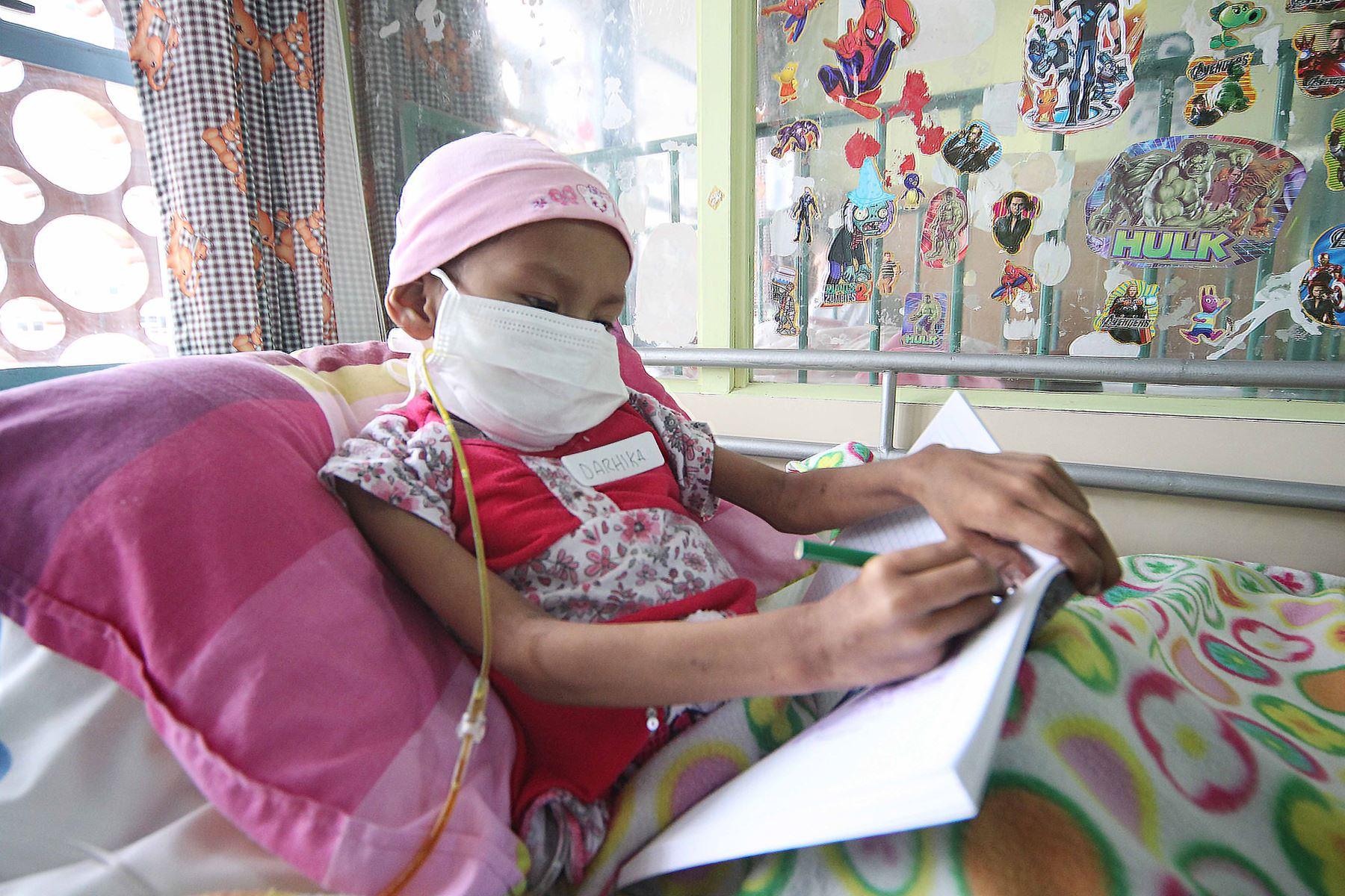 Campaña se hará por el Día Internacional del Cáncer Infantil, que se celebra la próxima semana. Foto: ANDINA/Difusión