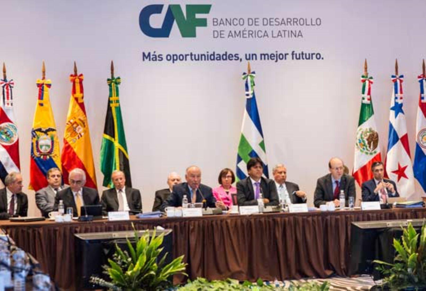 Reunión del Directorio de la CAF en Panamá, ANDINA/Difusión