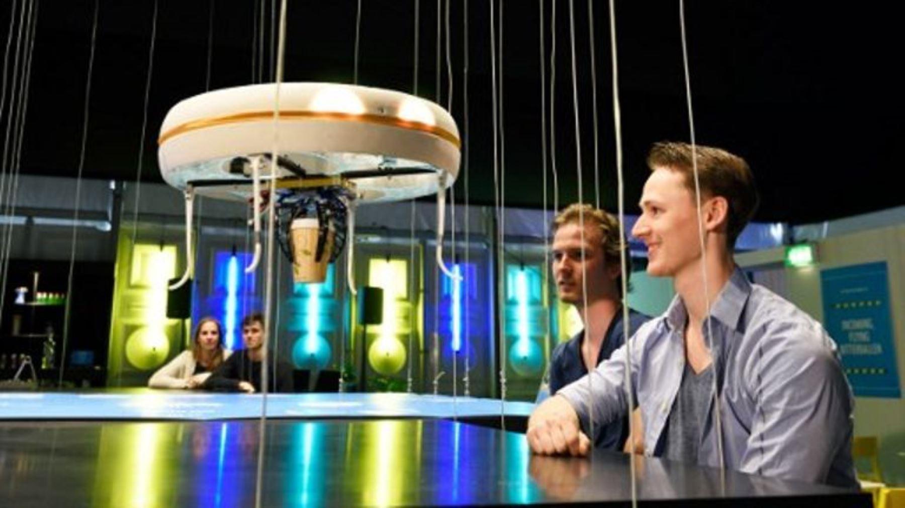 """Abre el primer """"Dron Café"""" del mundo en una universidad holandesa. Foto: INTERNET/Medios"""