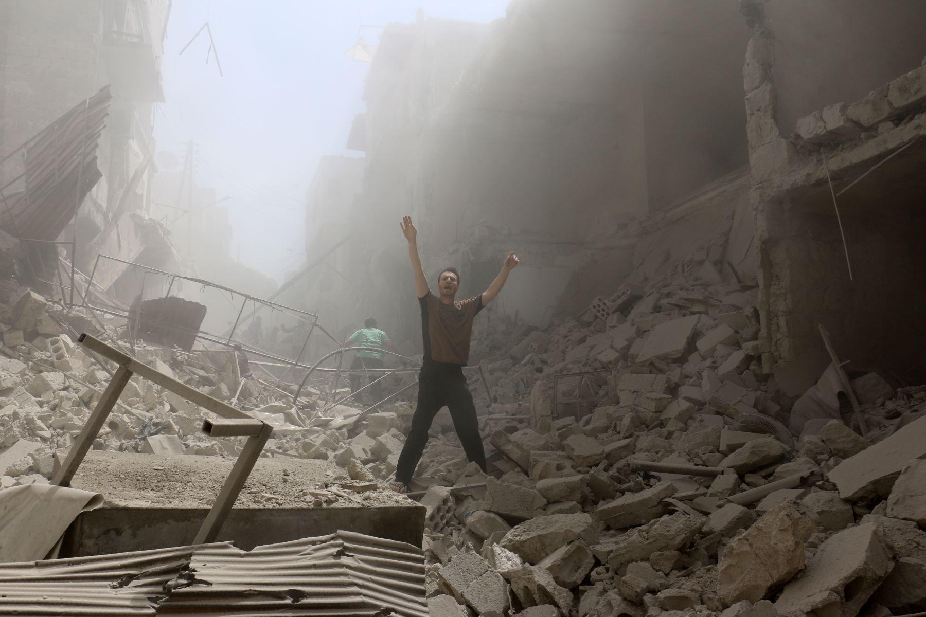 Siria: ejército se prepara para tomar Alepo tras semana de combates que dejó 200 muertos. Foto: AFP