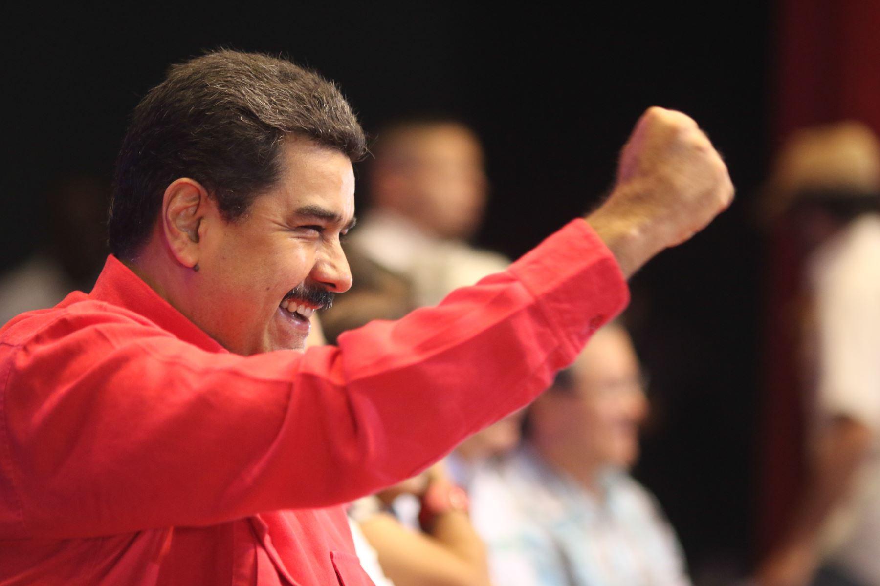 """Maduro sobre su revocatoria: """"nada de lo que está haciendo la oposición tiene viabilidad"""". Foto: INTERNET/Medios"""