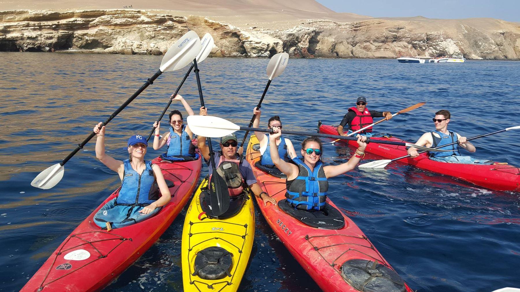 Brindarán servicio turístico en la Reserva Nacional de Paracas.