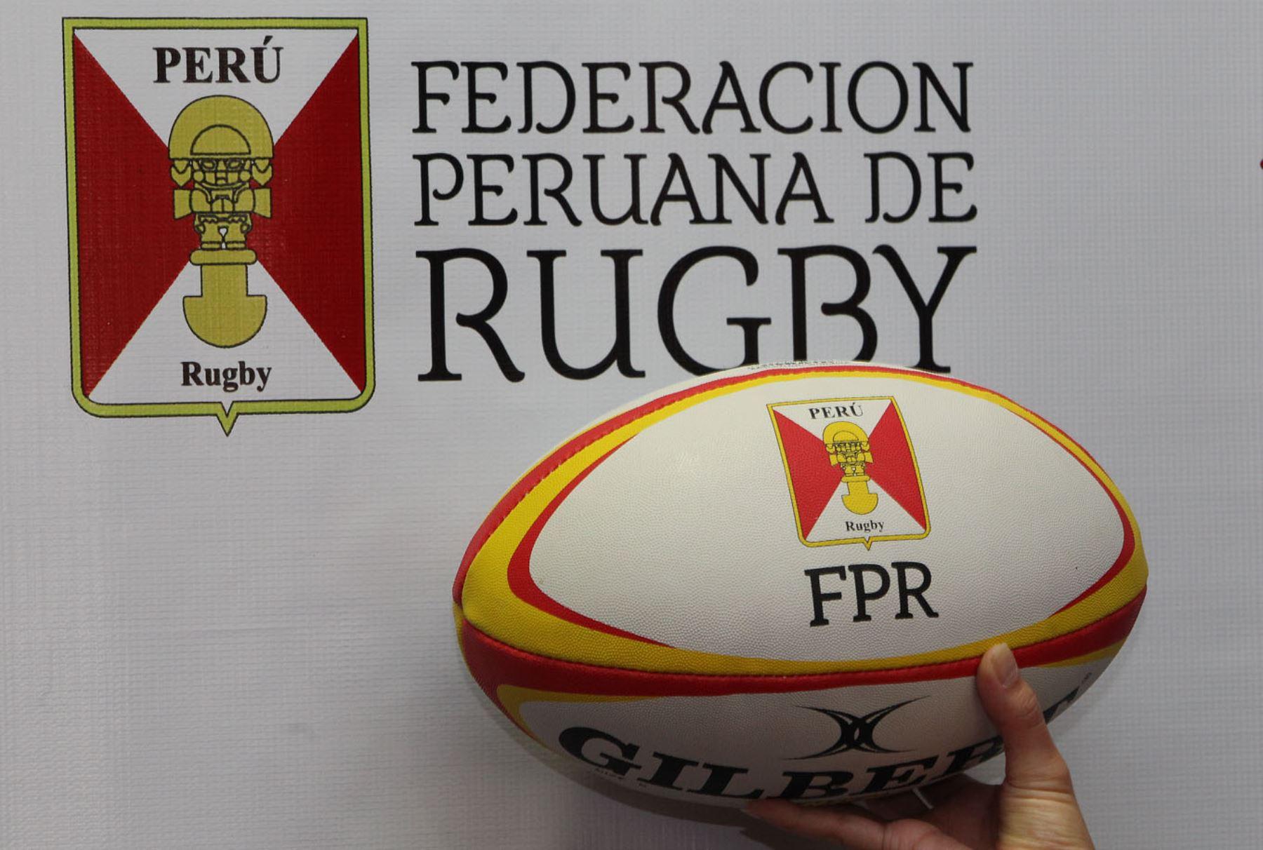 LIMA,PERÚ-MAYO 05.Federación de Rugby y Lamsac,Firman convenio.Foto:ANDINA/Héctor Vinces.