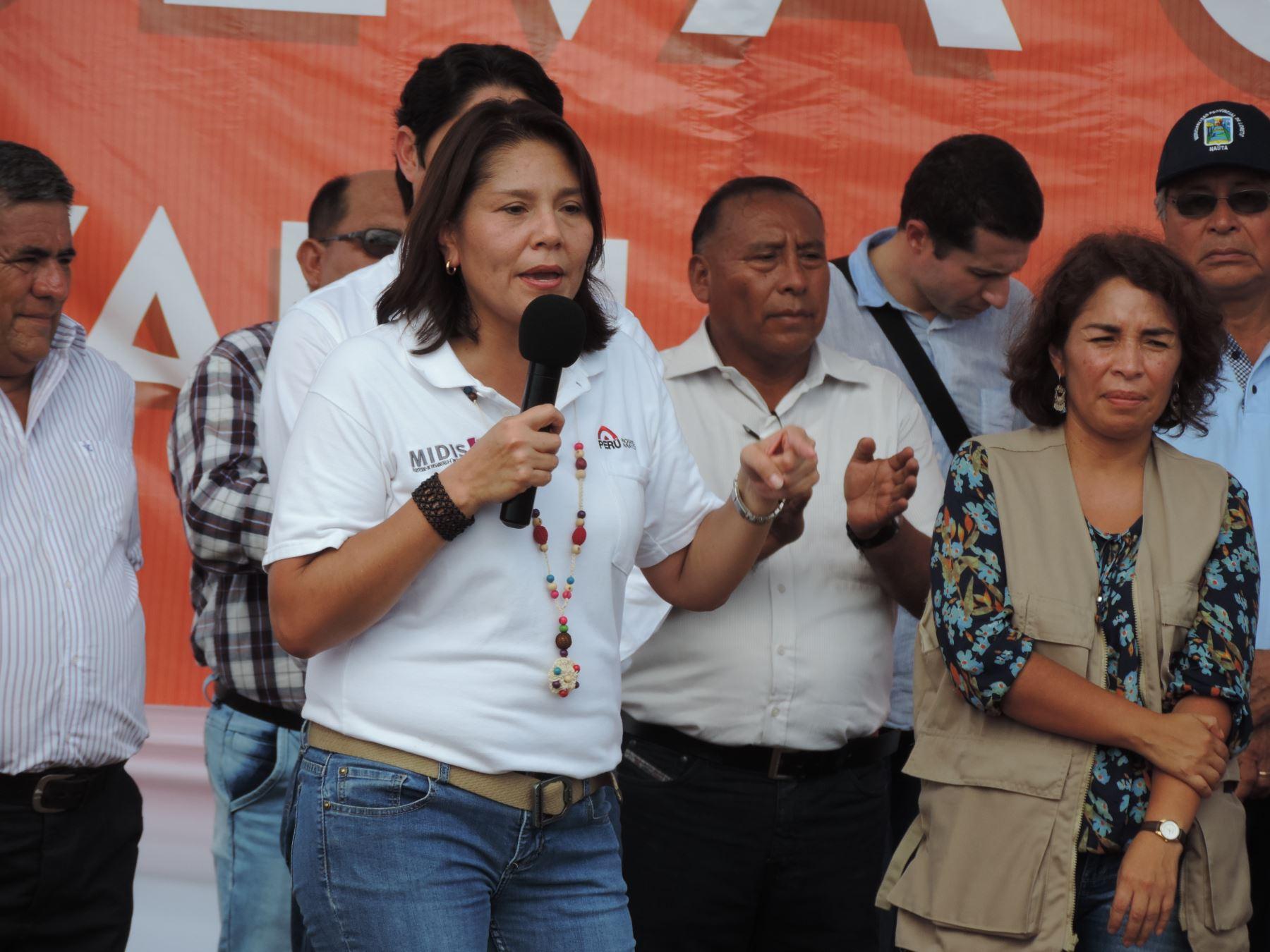 Ministra Paola Bustamante destacó riqueza cultural y lingüística del oriente peruano.