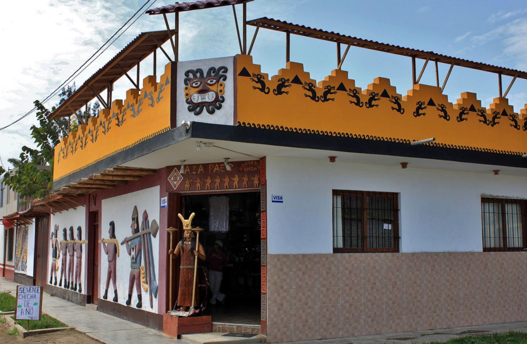 Mincetur ejecutó diversas obras de mejoramiento e interés turístico en Magdalena de Cao, La Libertad. ANDINA