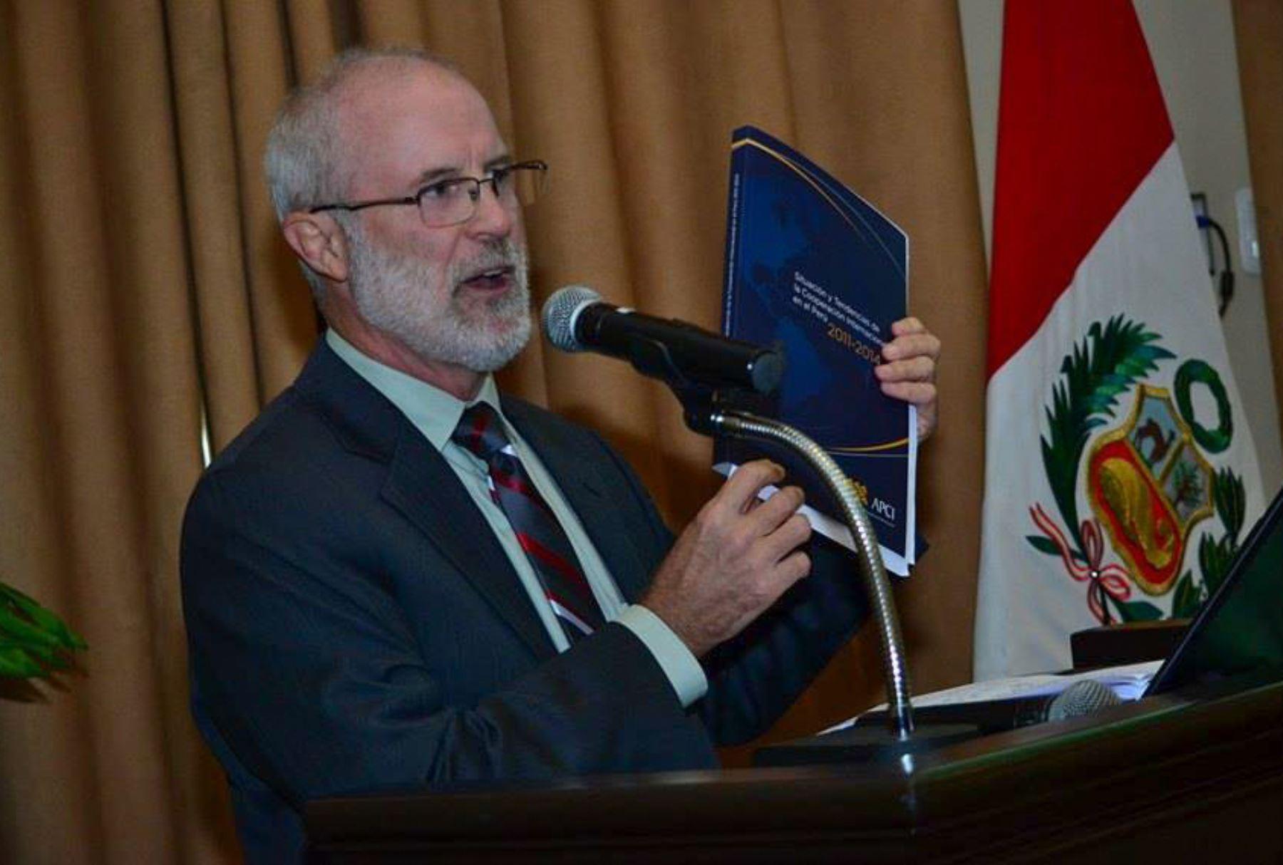 LIMA,PERÚ-JUNIO 14. El Ministerio de Agricultura y Riego (MINAGRI) se reúne con los principales agentes y cooperantes internacionales en el Perú. Foto: ANDINA/Diana Marcelo