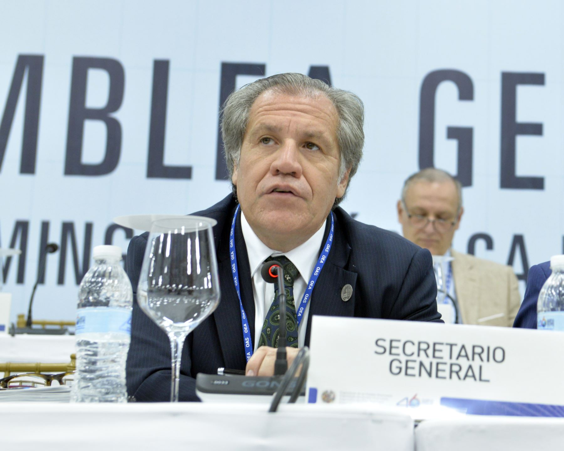 Secretario General de la OEA, Luis Almagro. Difusión