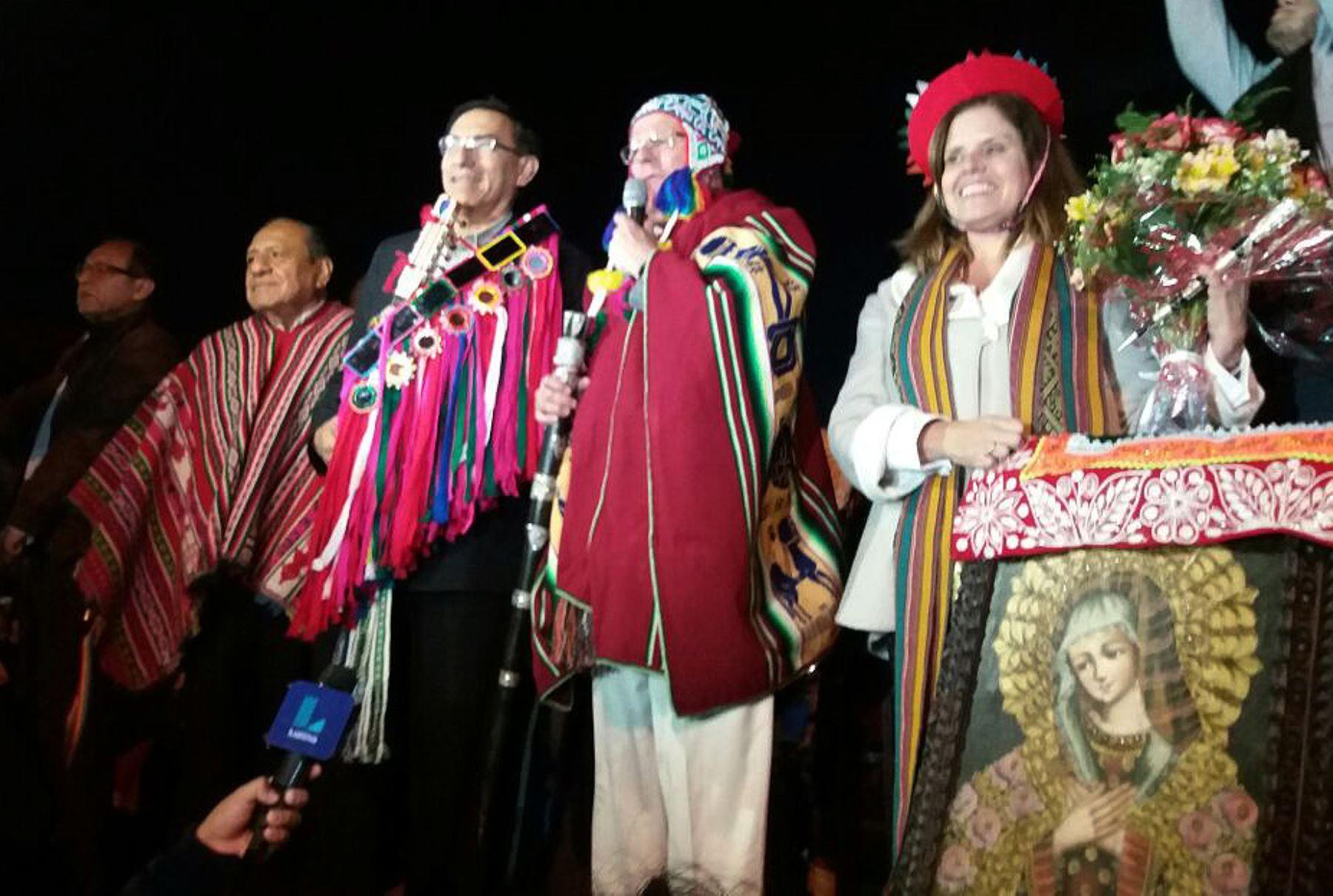 Presidente electo Pedro Pablo Kuczynski llega a la ciudad del Cusco. ANDINA/Difusión