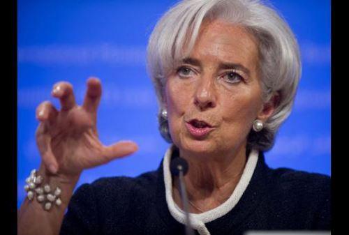 Directora gerente del FMI, Christine Lagarde. Foto: AFP