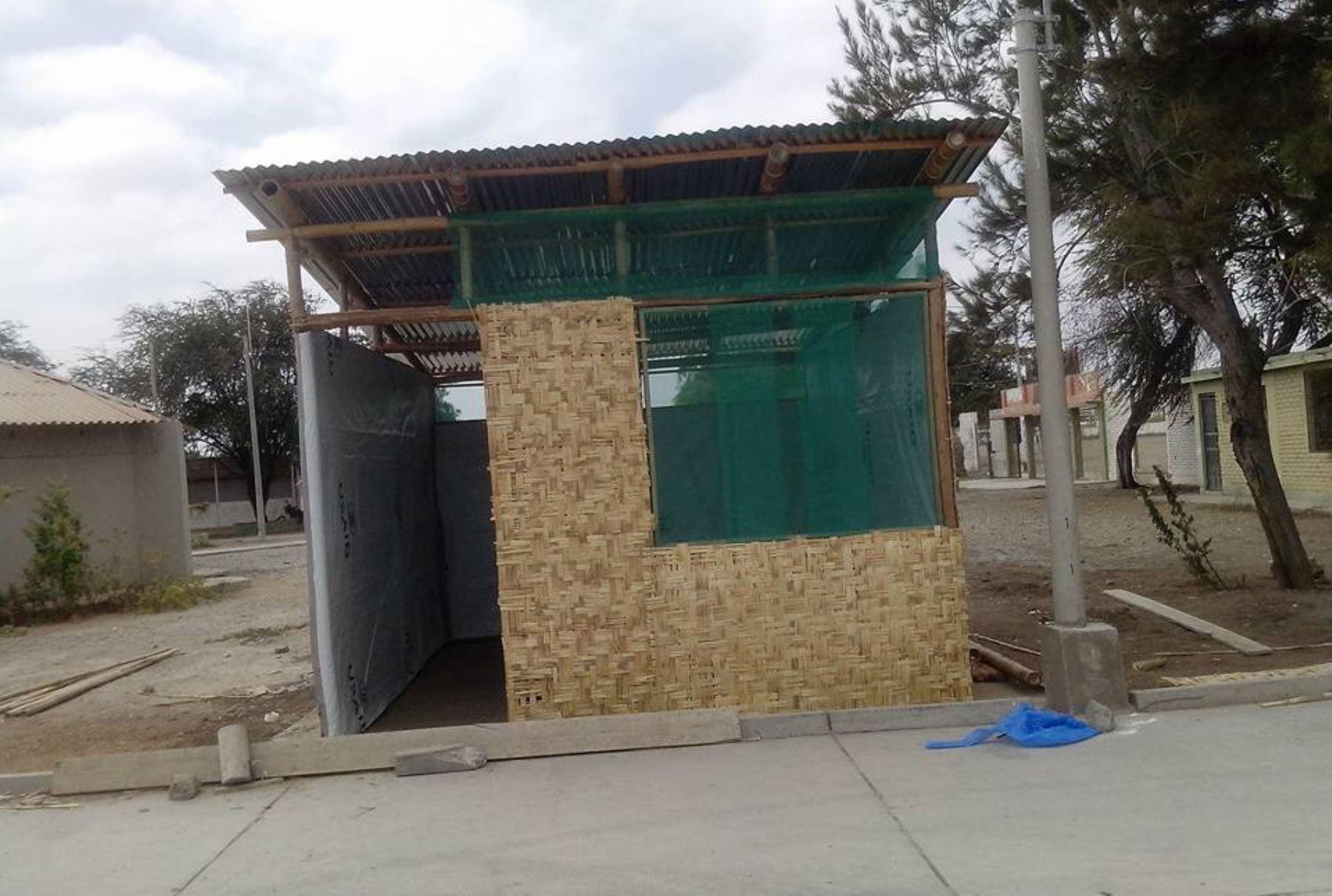 Capacitan en construcción de módulos temporales de vivienda ante ...