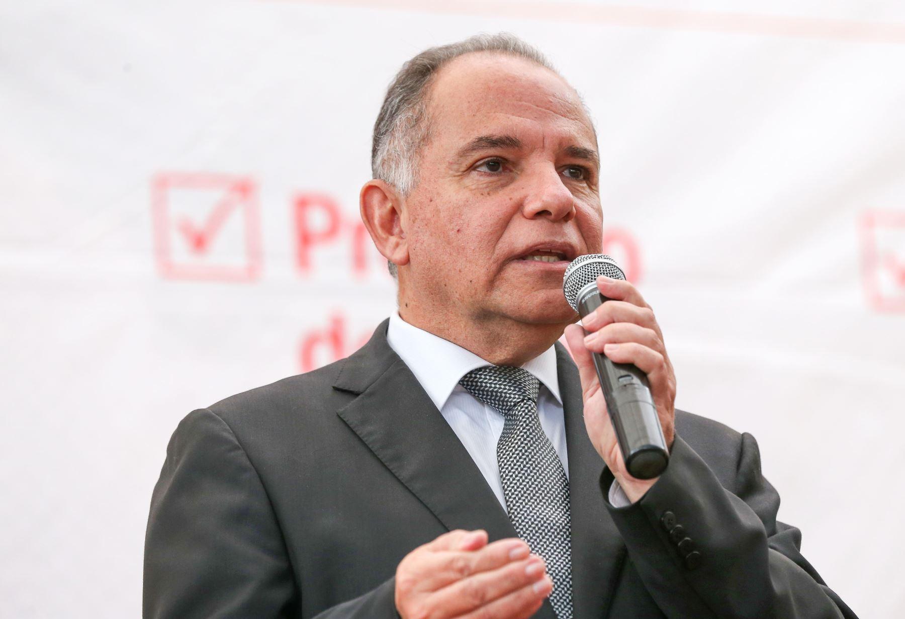 Viceministro de Promoción del Empleo y Capacitación Laboral, Jaime Obreros. ANDINA / Norman Córdova