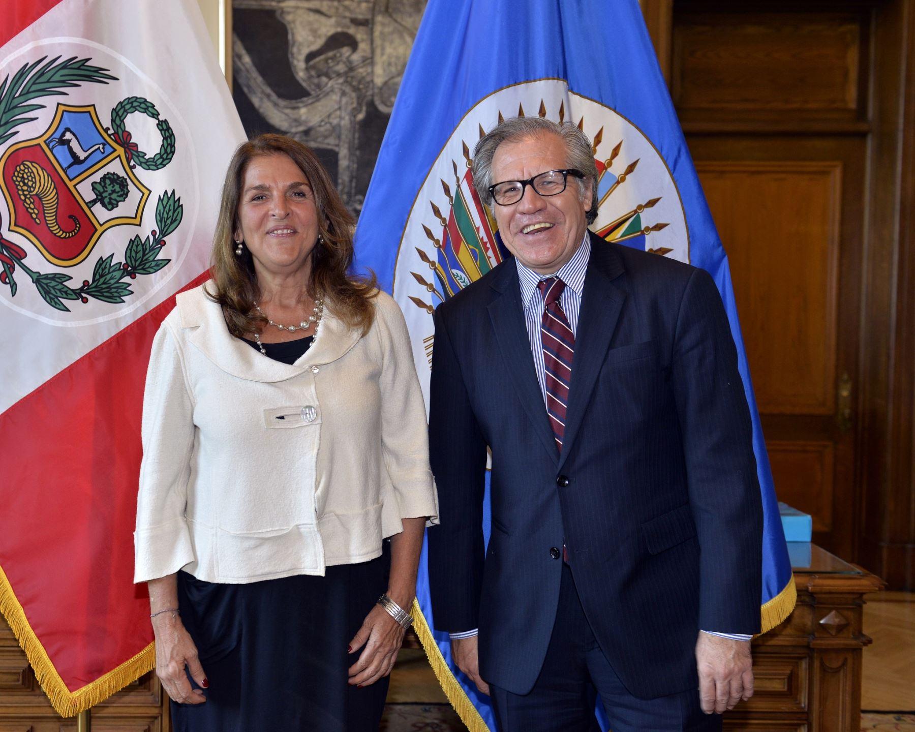 Peruvian Ambassador to OAS presents credentials