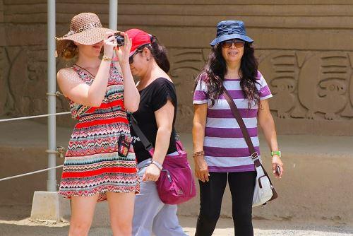 Turistas.Foto:  ANDINA