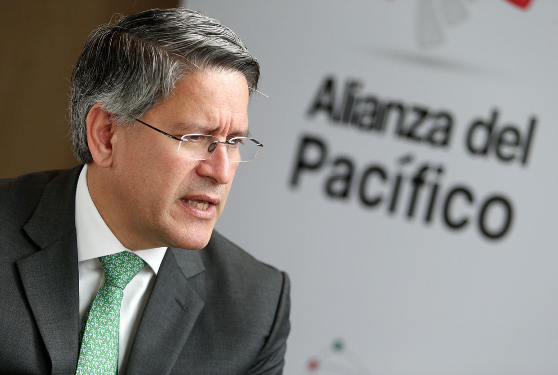 Martín Pérez, Presidente de la CONFIEP. Foto: ANDINA/Melina Mejía