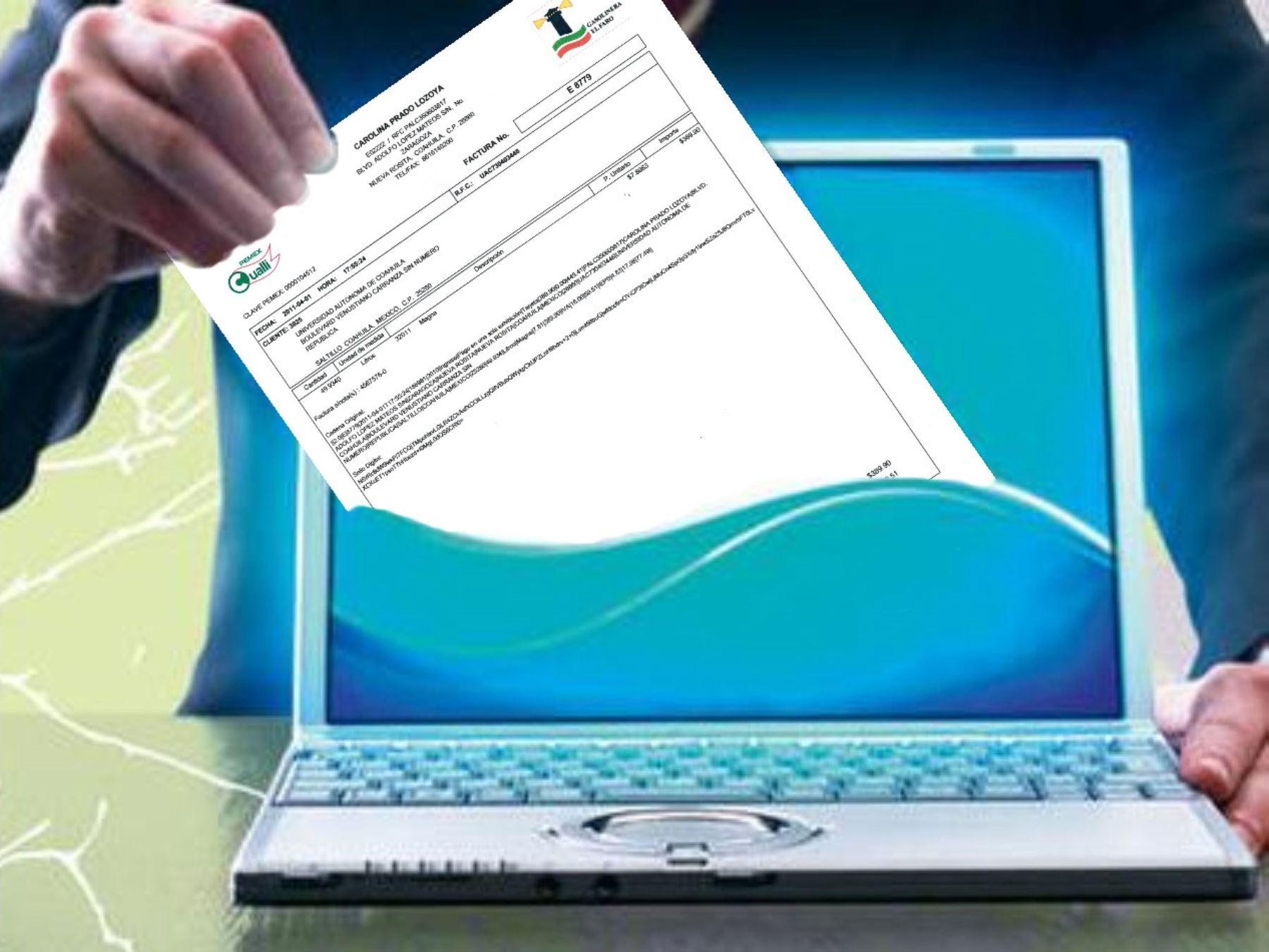 Facturación electrónica. Foto: ANDINA/Difusión.