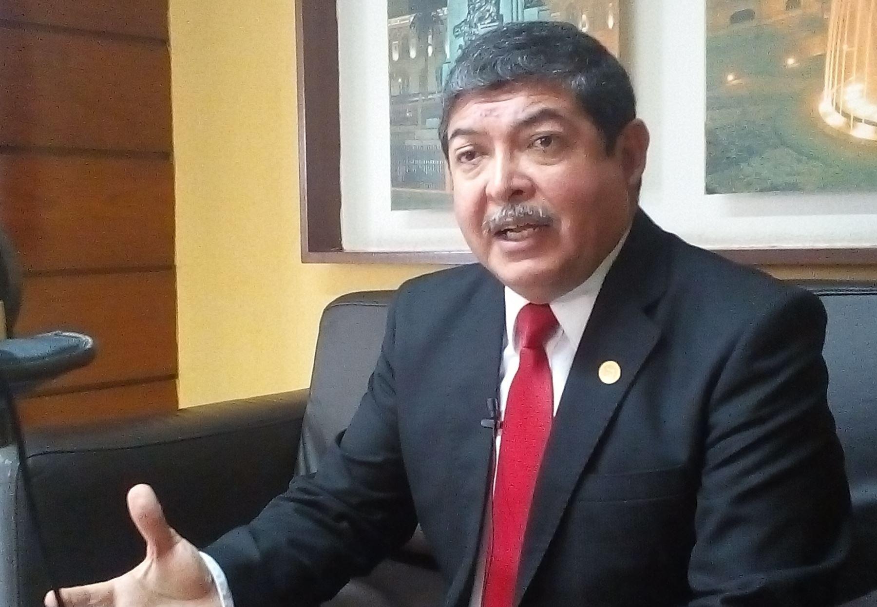 Gobernador regional de Tacna, Omar Jiménez. Foto: GR Tacna.