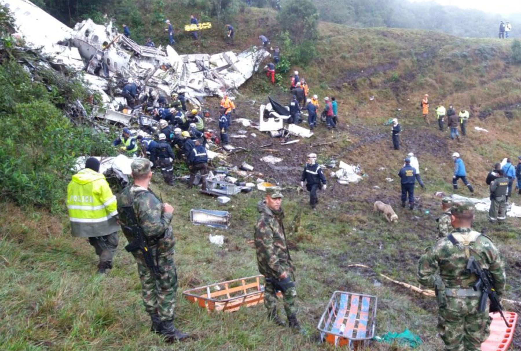 Revelan verdadera causa del accidente de avión Chapecoense