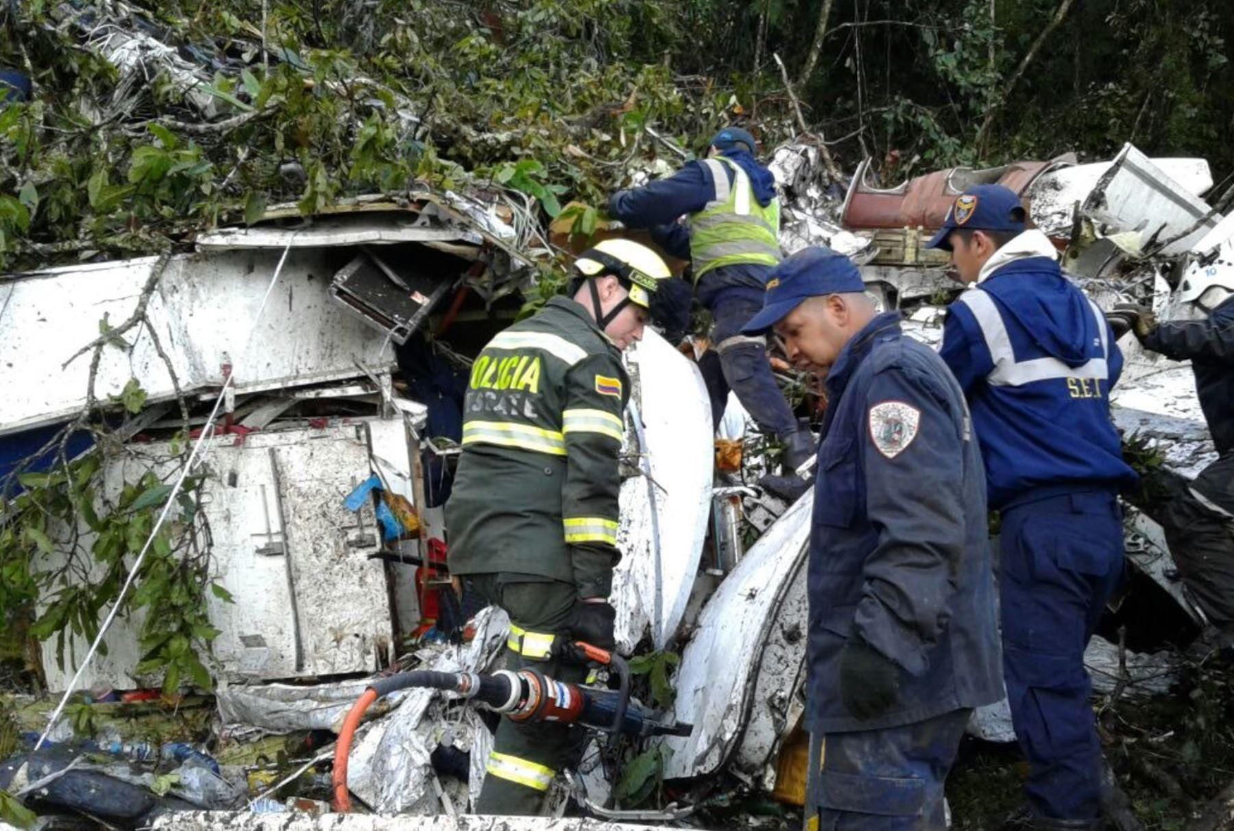 Aerocivil entrega conclusiones de la investigación por la catástrofe del Chapecoense