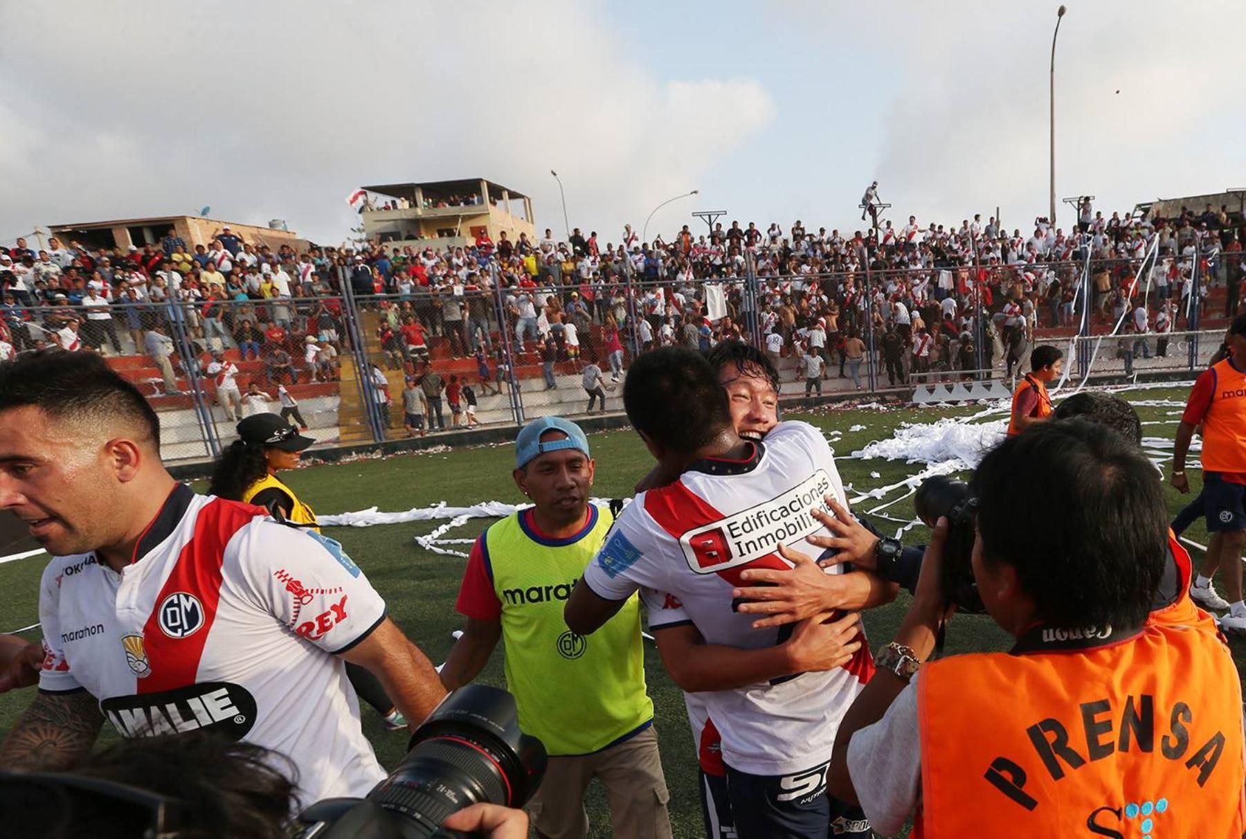 Con gol de Sawa, a los 45 Municipal derrota 1-0 a Sporting Cristal en el estadio Iván Elías Moreno de Villa El Salvador. Foto: ANDINA/ Melina Mejía