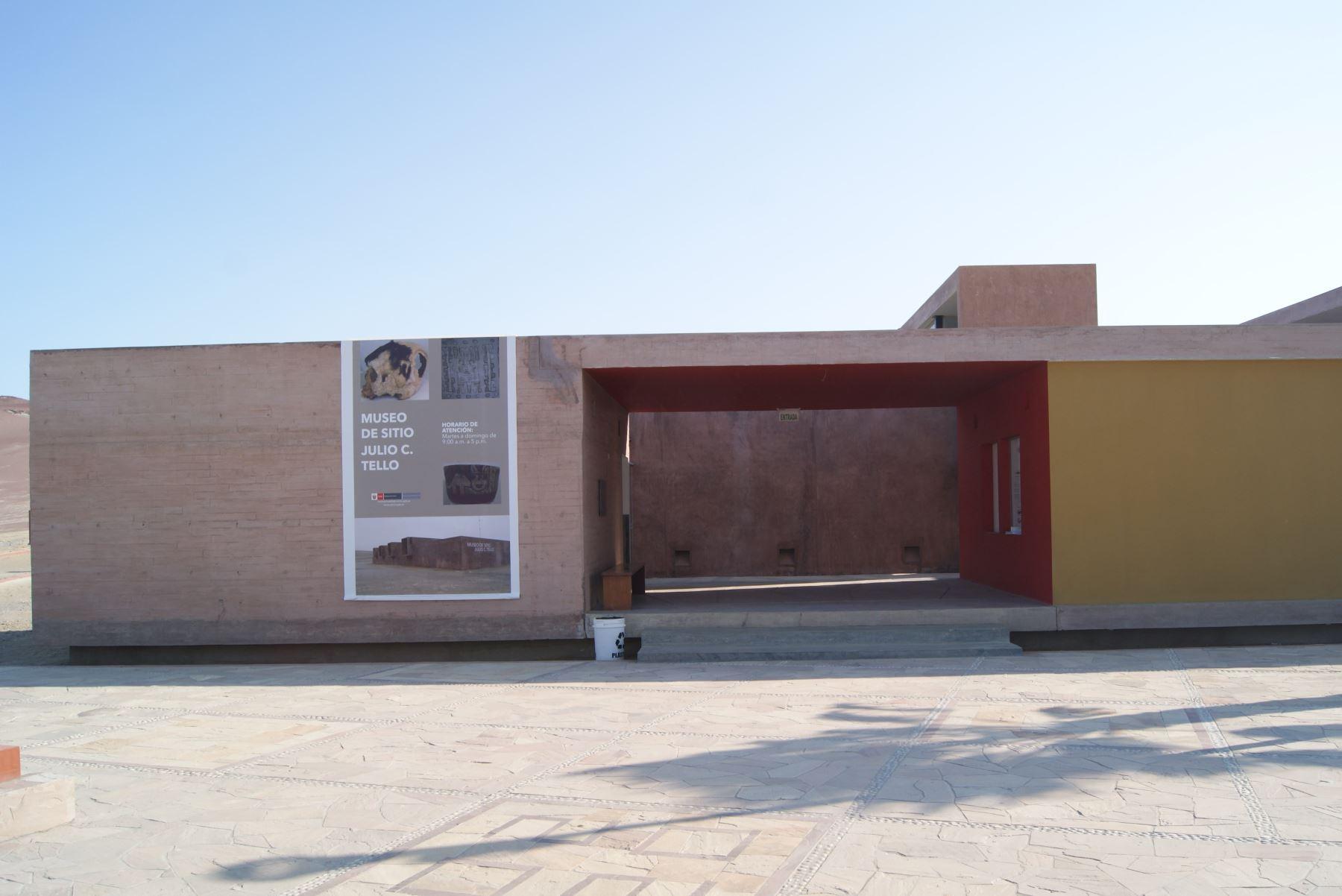 Museo de sitio Julio C. Tello, ubicado en interior de la Reserva Nacional Paracas. ANDINA/Difusión