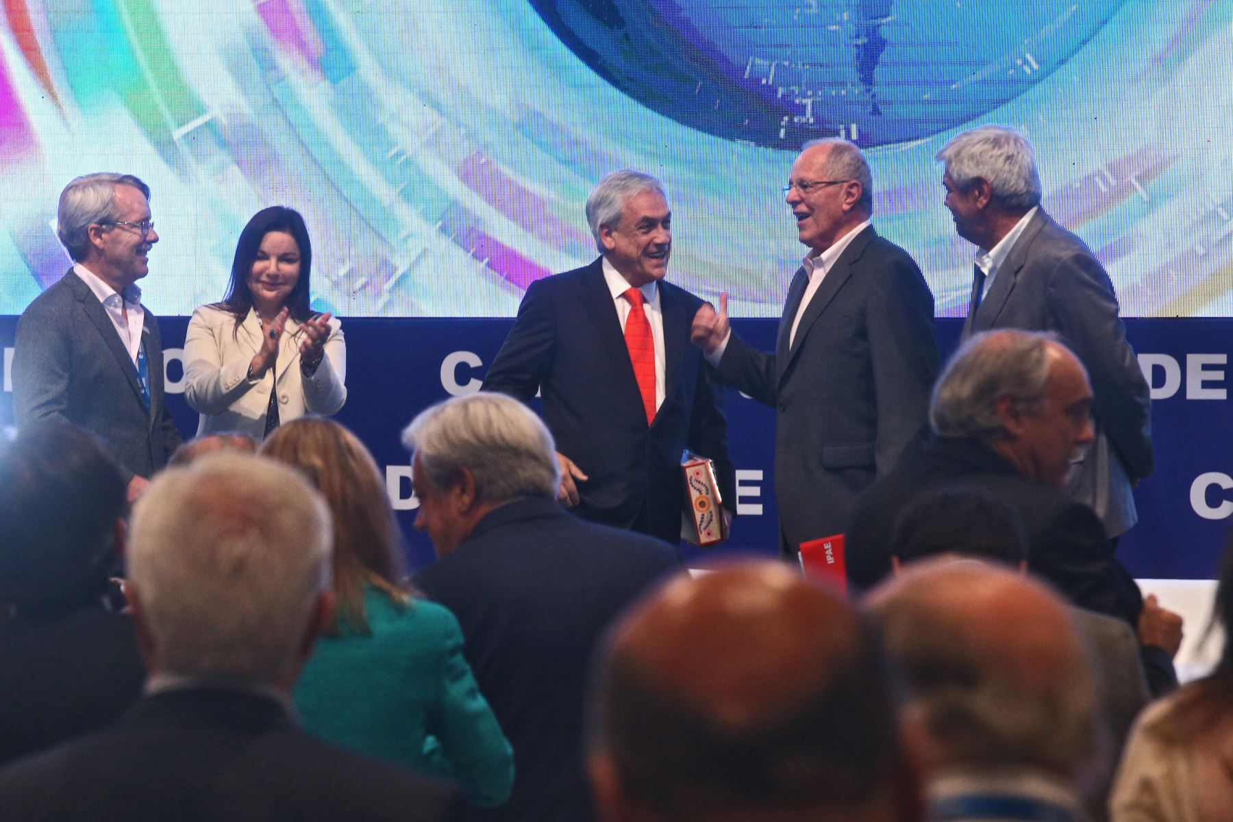 La primera actividad como presidente de Sebastián Piñera — Sename