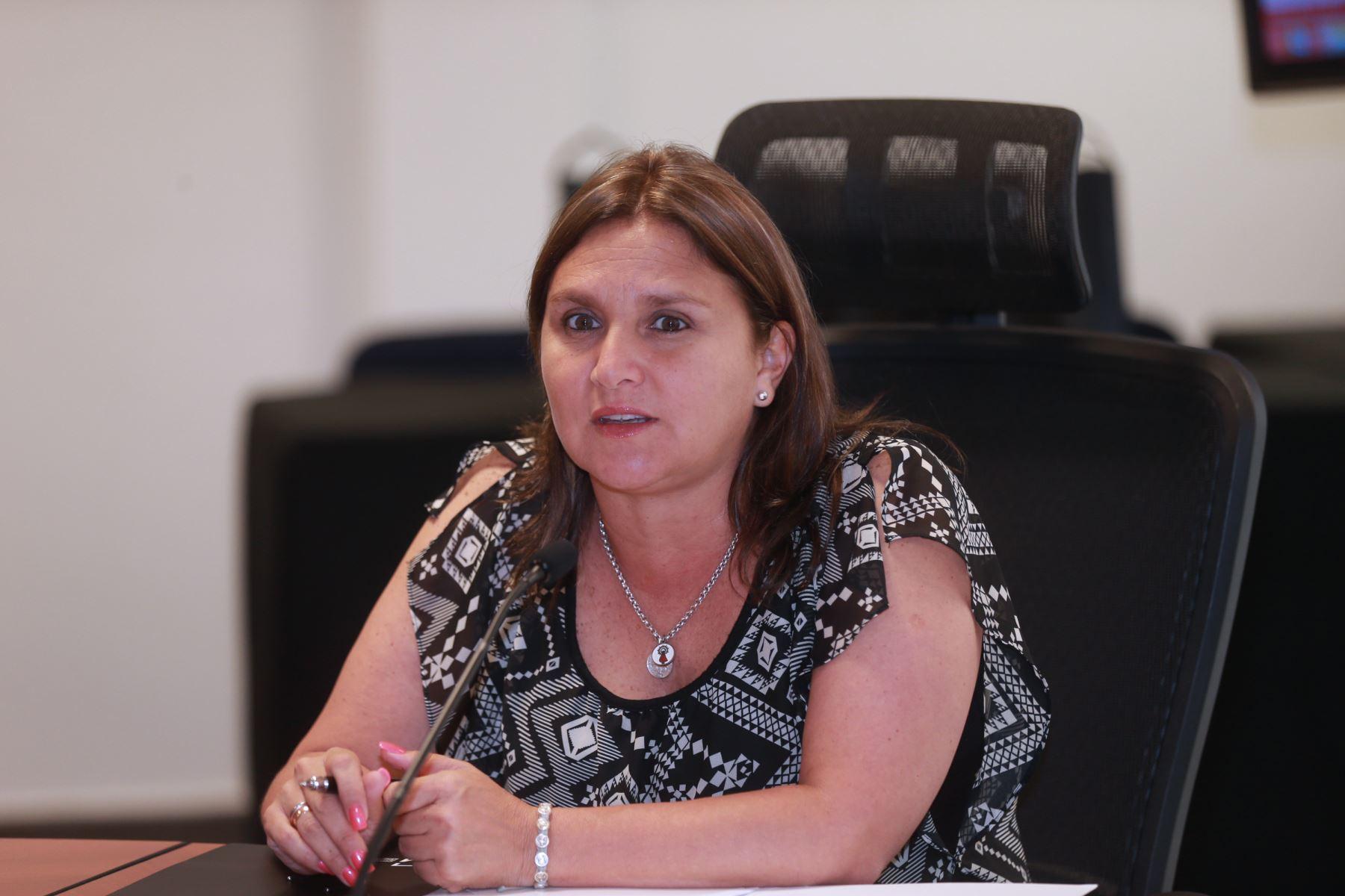 Ministra de Justicia y Derechos Humanos, Marisol Pérez Tello.Foto:  ANDINA/Norman Córdova