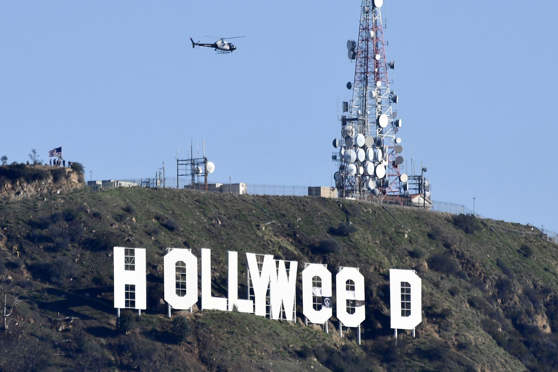 Popular letrero de Hollywood fue cambiado.
