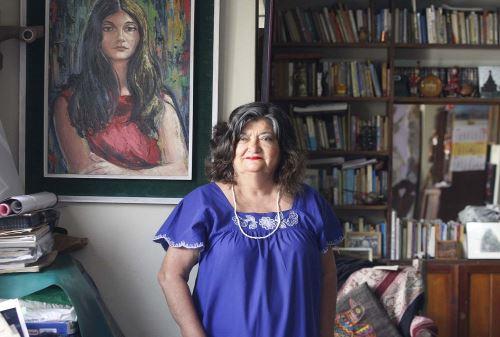 Poeta Rosina Valcárcel, participante de festivalFoto:  ANDINA/Eddy Ramos.
