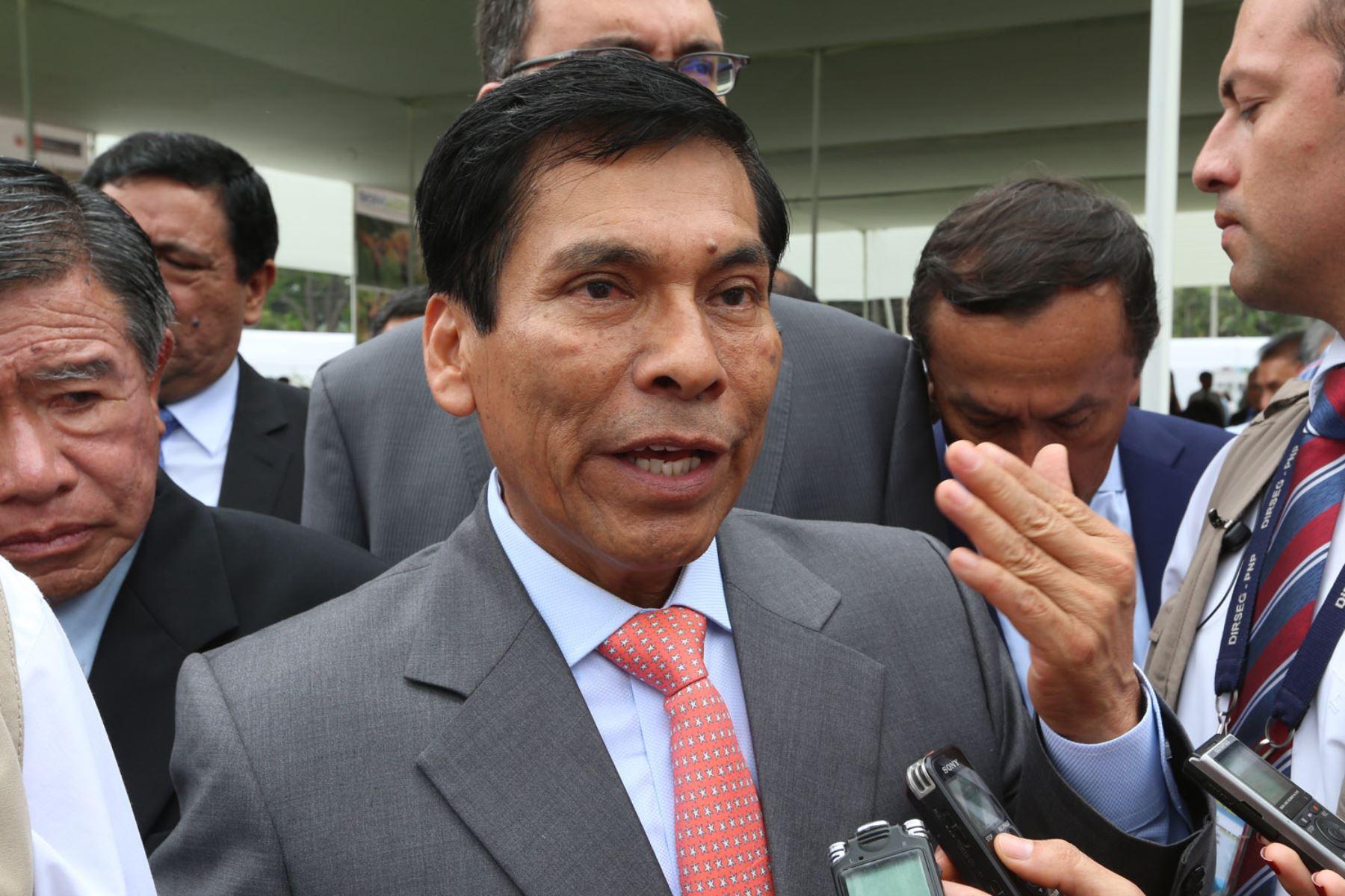 Ministro de Agricultura, José Manuel Hernández.Foto:  ANDINA/Dante Zegarra.