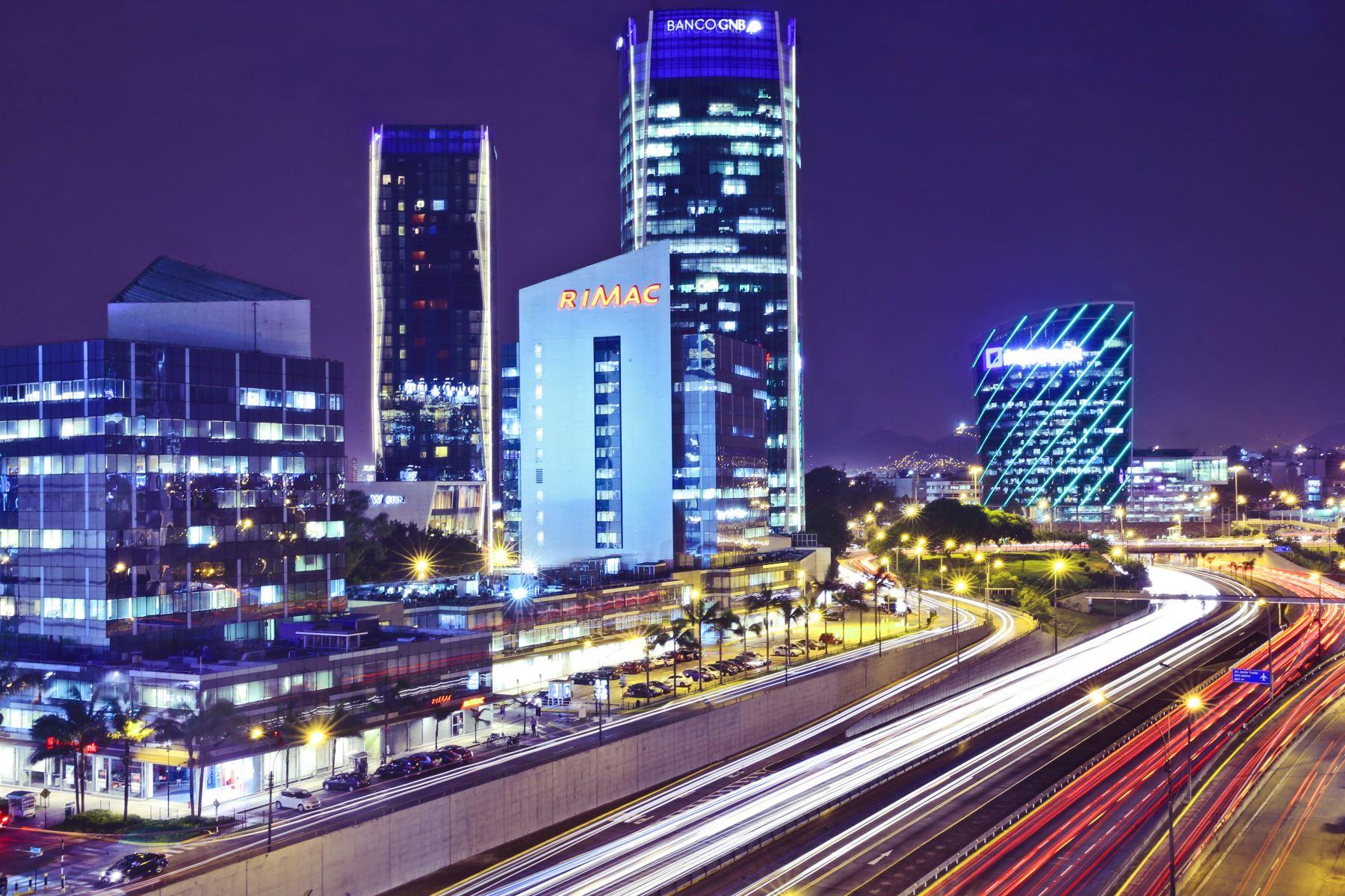 Centro Financiero en San Isidro.Foto:ANDINA/archivo.