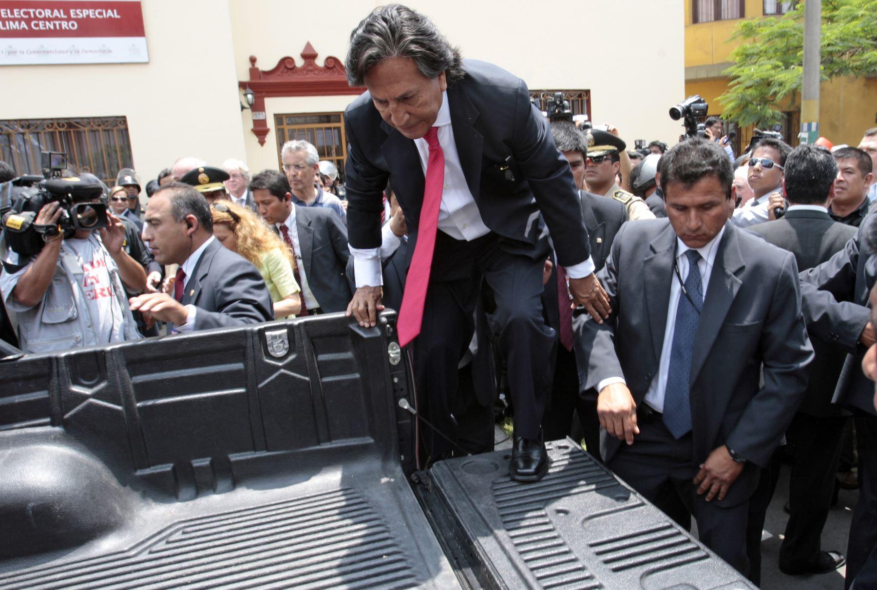 Corte Suprema evaluará este lunes extradición — Alejandro Toledo