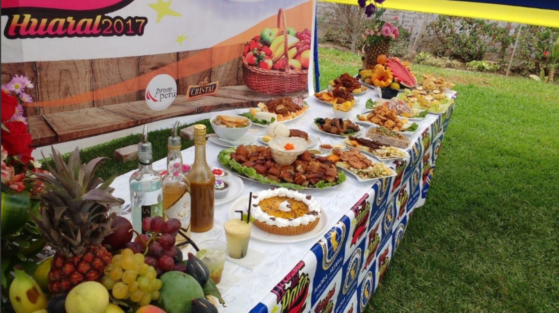 Gastronomía de Huaral