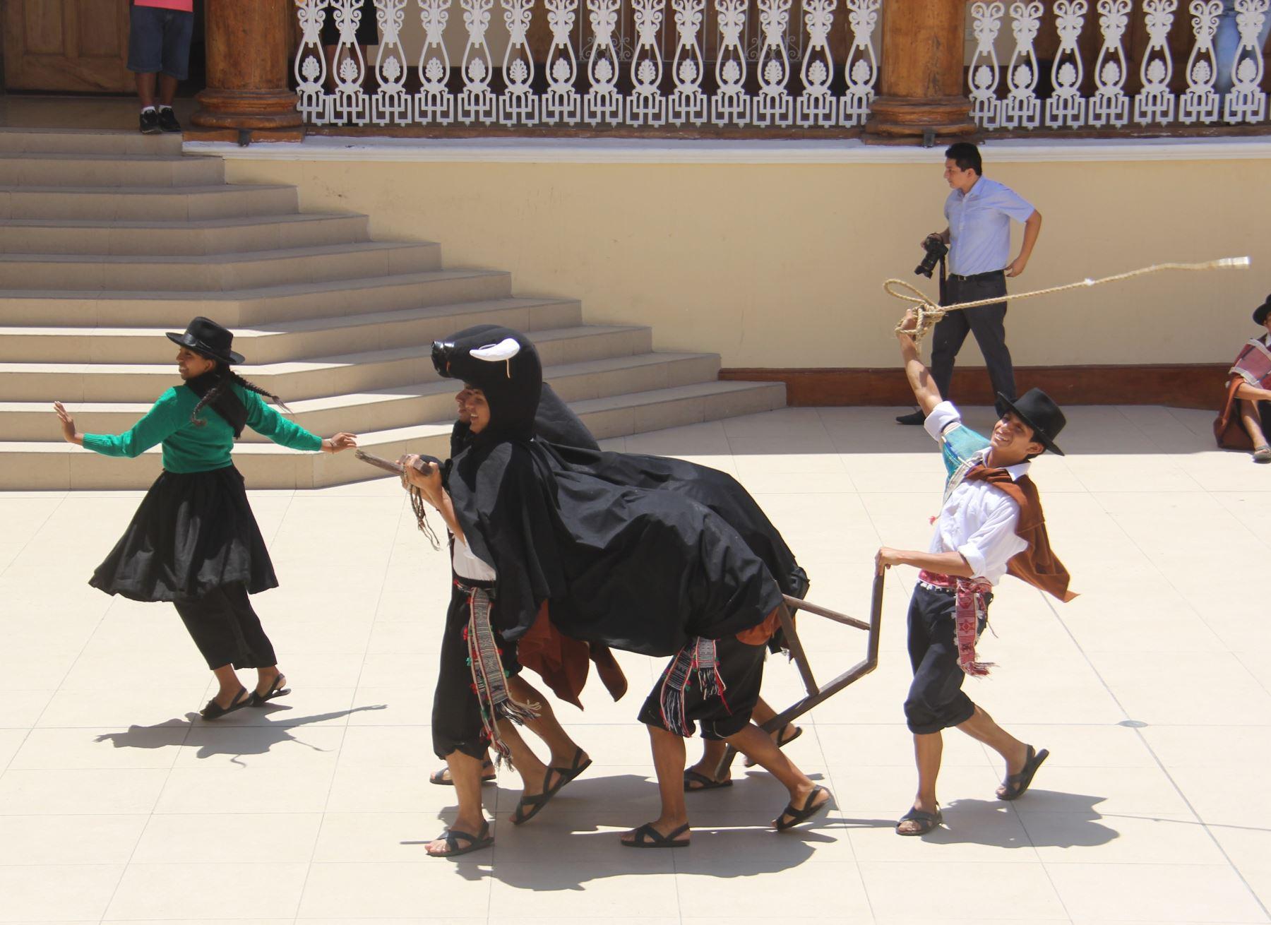 Julcán espera recibir más de 5,000 turistas durante celebración de su carnaval. ANDINA/Luis Puell