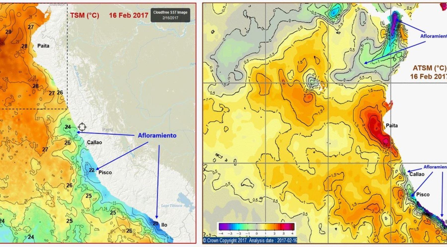 Posible ocurrencia de El Niño costero débil se mantiene hasta marzo, revela reporte del Enfen.