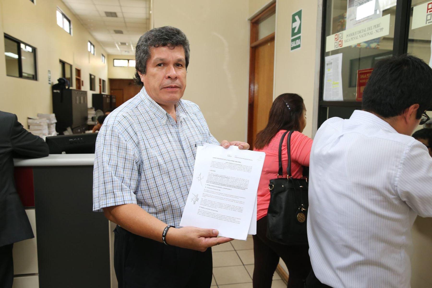 Heriberto Benítez, uno de los abogados de Toledo, asegura que existe una persecución contra su defendido. Hasta el momento, la defensa legal del exmandatario solo ha tenido reveses.