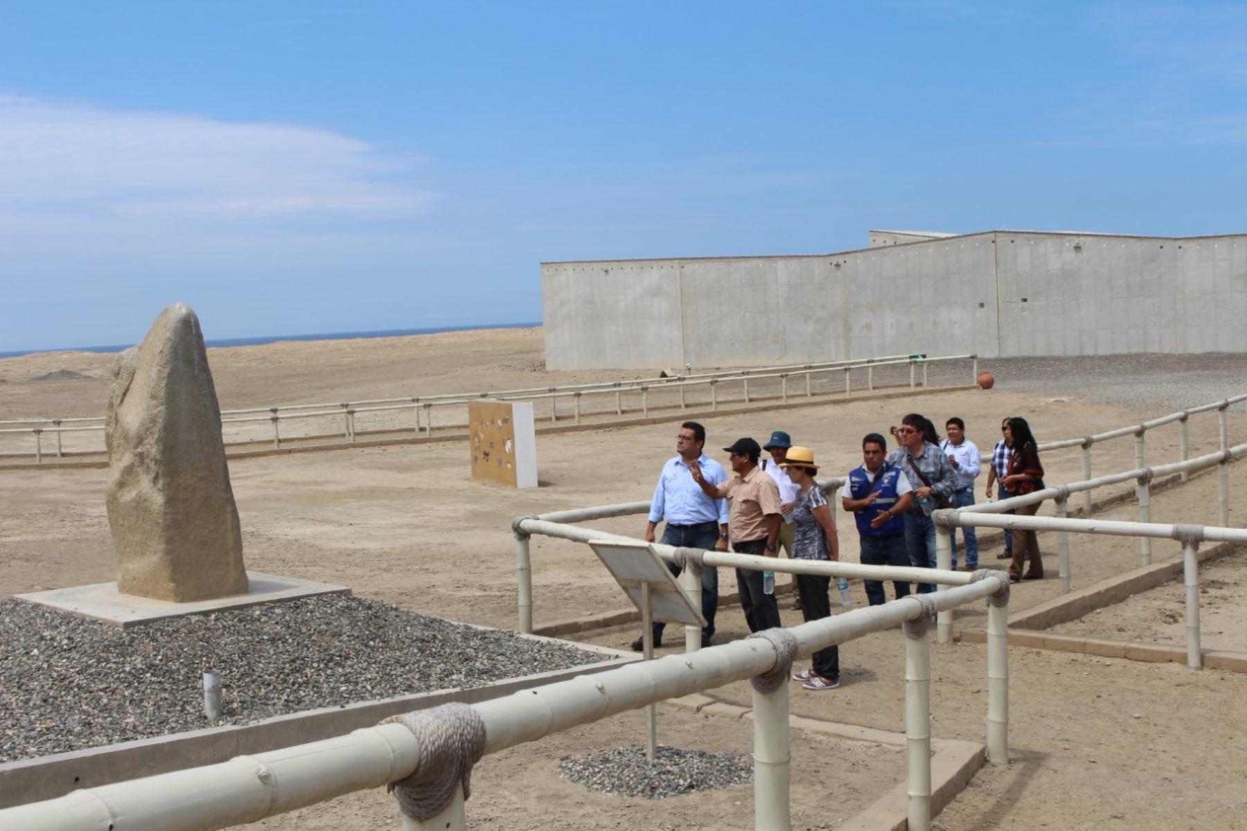 Mejorarán vías de acceso en complejo El Brujo.